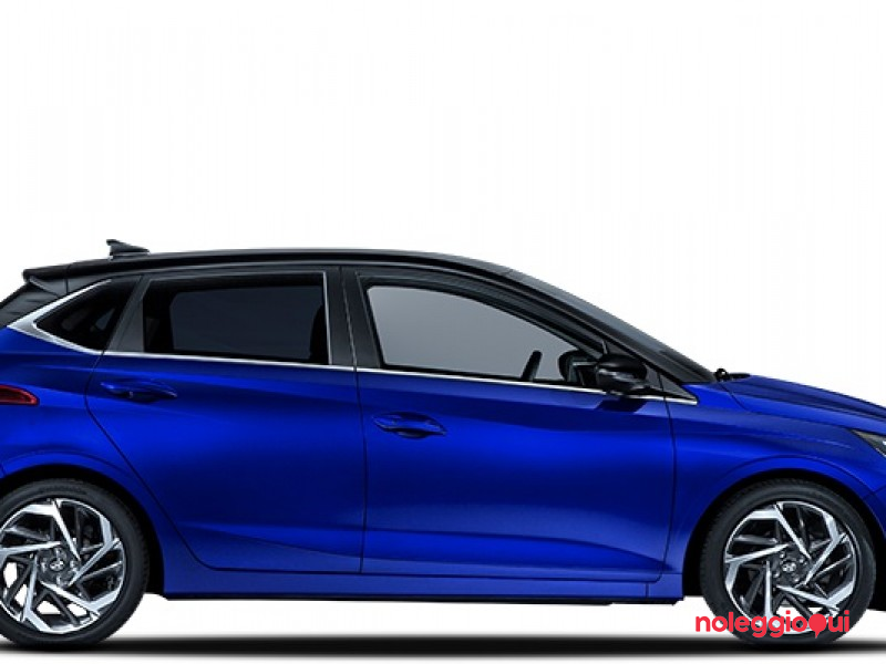 Noleggio Hyundai Nuova i20 - 1.2 MPI 84cv Bose