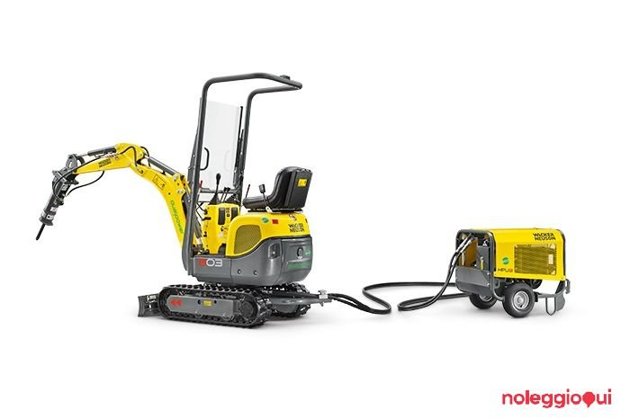 Noleggio Mini Escavatore Wacker Neuson 803 Dual Power