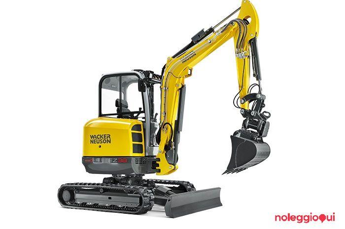 Noleggio Mini escavatore Wacker Neuson EZ38