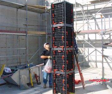 Casseri per pilastro in ABS