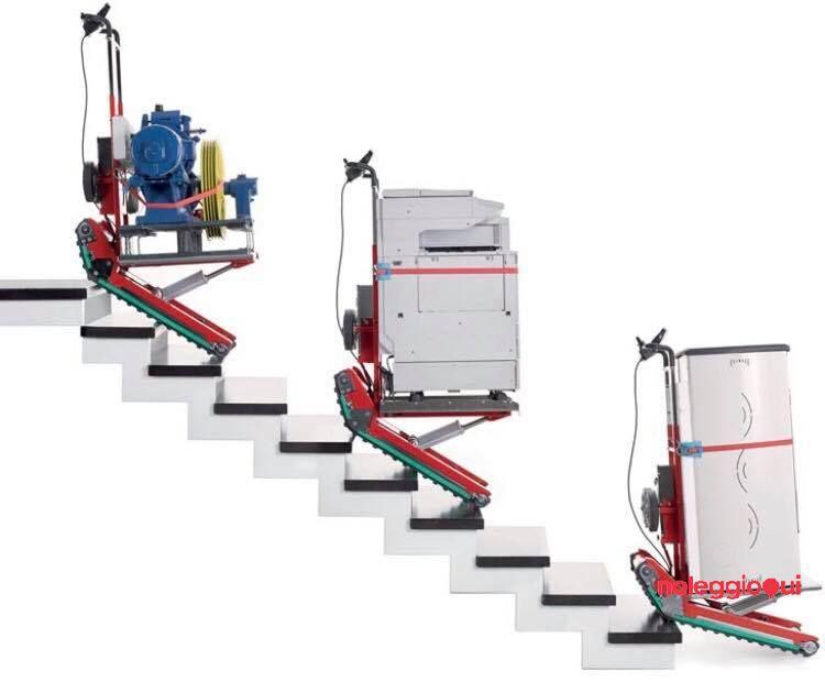 Noleggio Noleggio Carrello Saliscale Automatizzato 400Kg