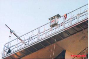 Noleggio Ponteggio sospeso a fune GRC F 12