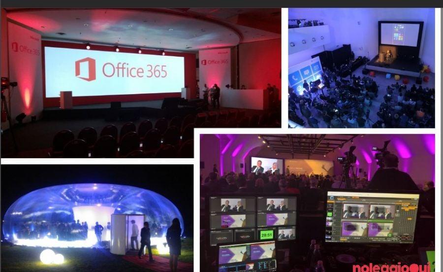 Noleggio Service audio video per eventi