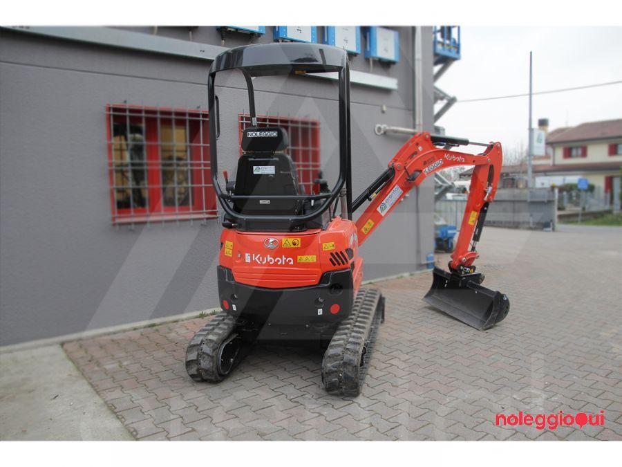 Noleggio Mini-escavatore KUBOTA U17-3α