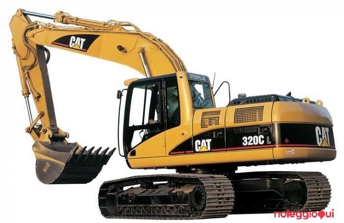 Noleggio CAT 319C