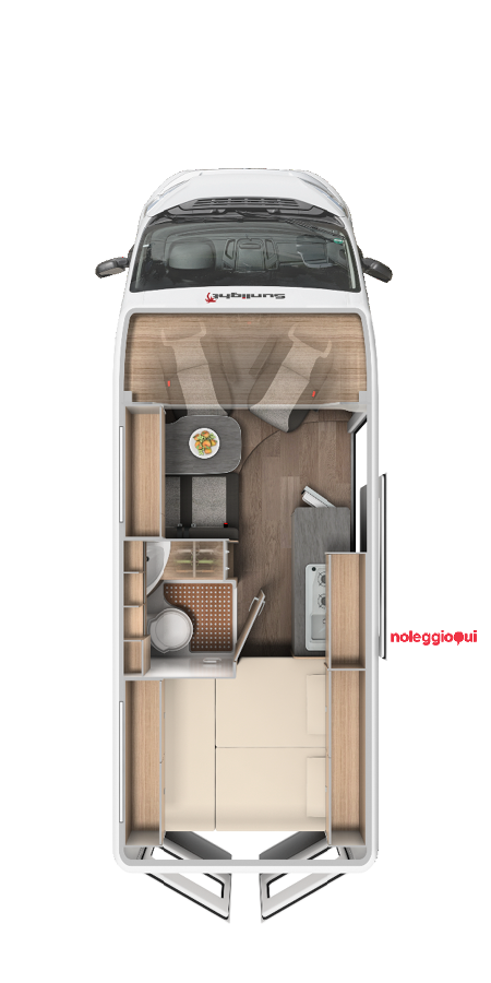 Noleggio Camper - 2 posti