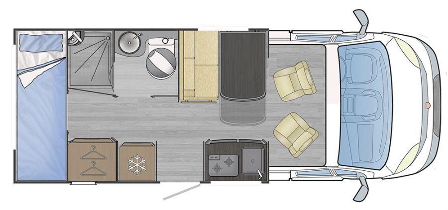 Noleggio Camper - 4 posti