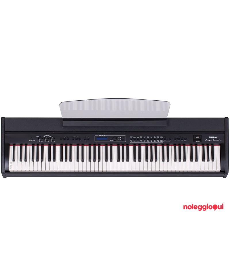 Pianoforte Digitale 88 tasti pesati ORLA Stage Concert