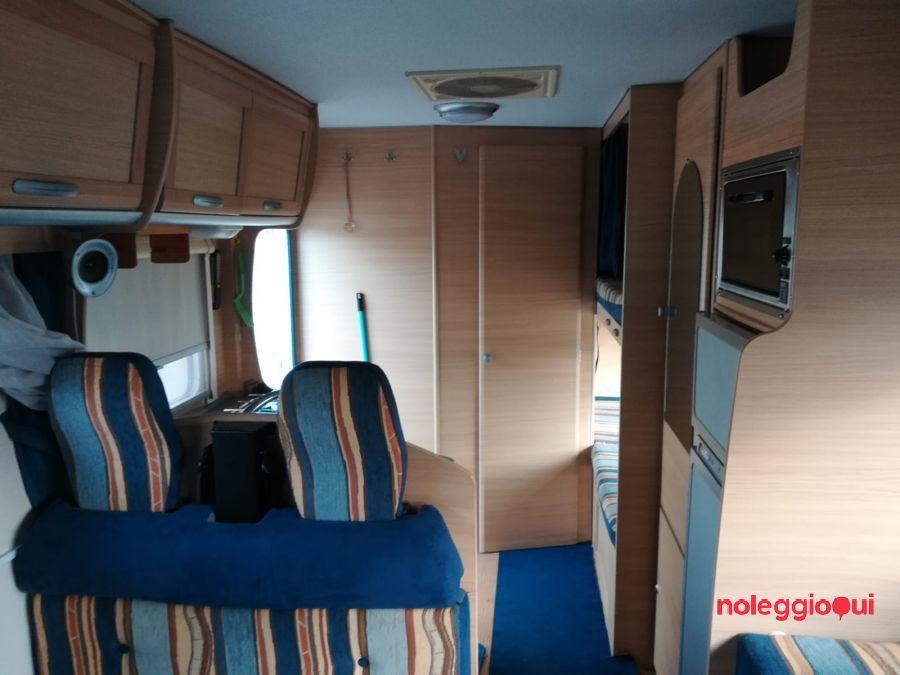 Noleggio camper ROLLER TEAM 7 MAXI