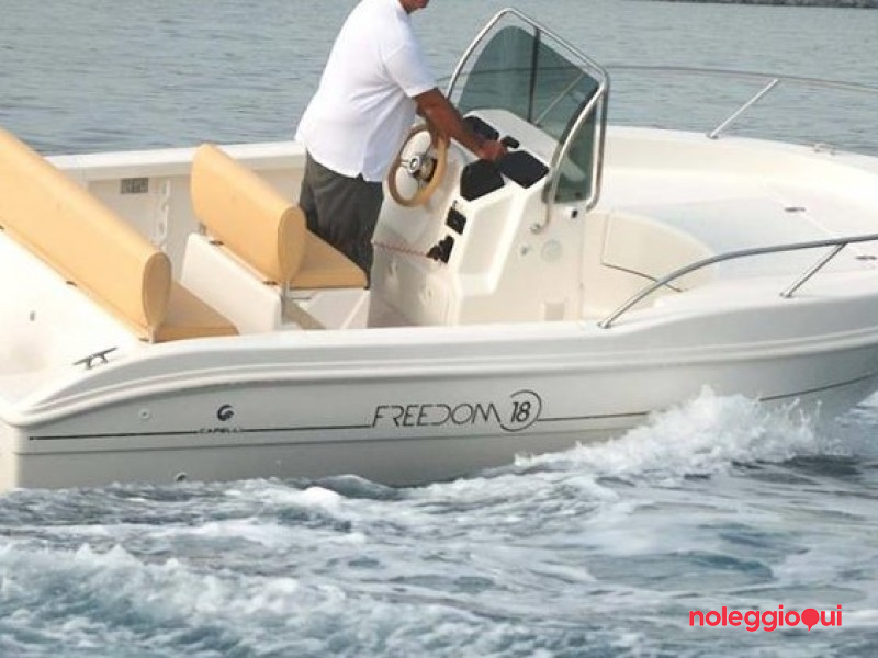 Imbarcazione FREEDOM - Noleggio senza patente