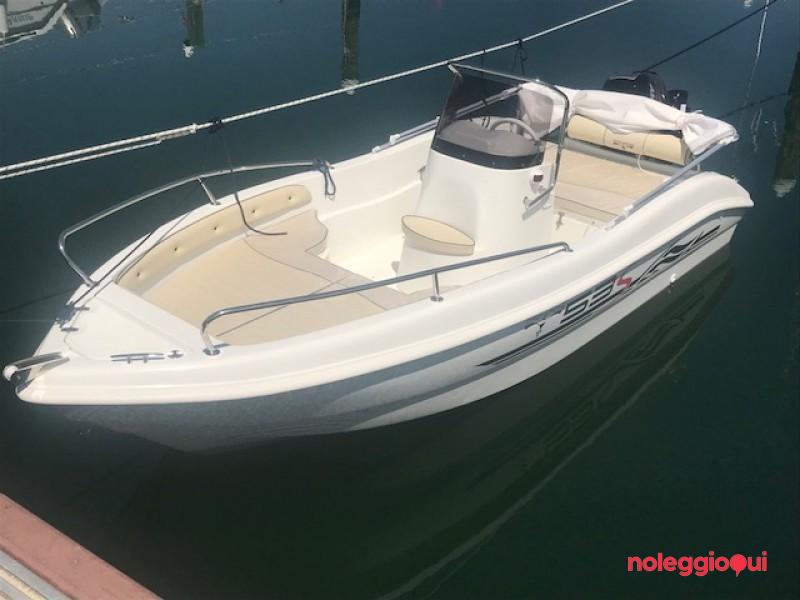 Barca RI3 - Trimarchi 53S + Mercury F40 PRO