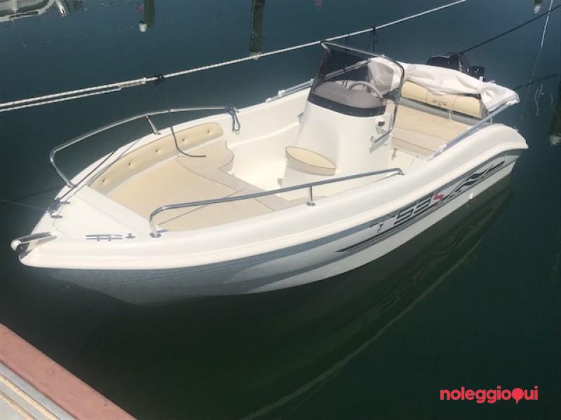 Barca RI1 -  Trimarchi 53S  + Mercury F40 PRO