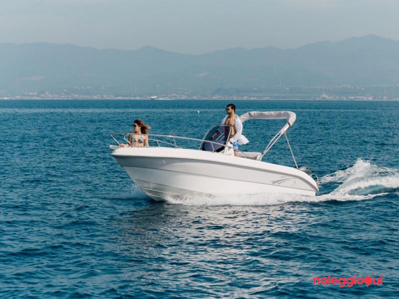 Barca PTO1 SYROS 190 +MERCURY F40 PRO