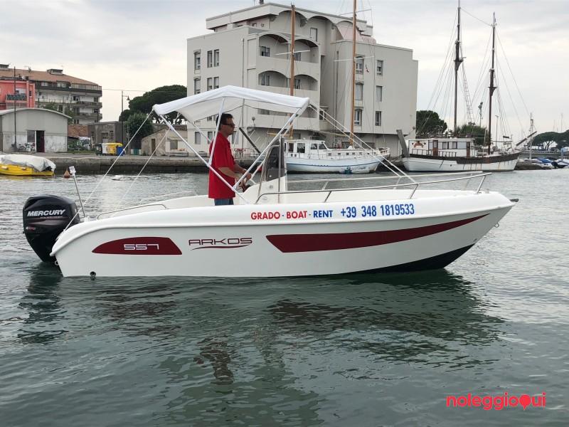 Noleggio Barca GBR8    517 open