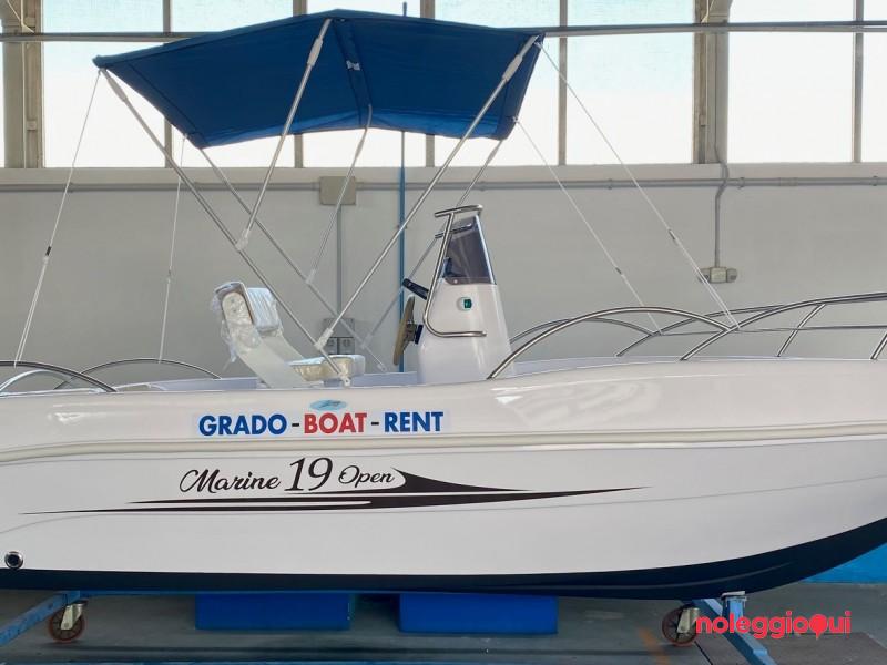 Noleggio Barca GBR3    19 open