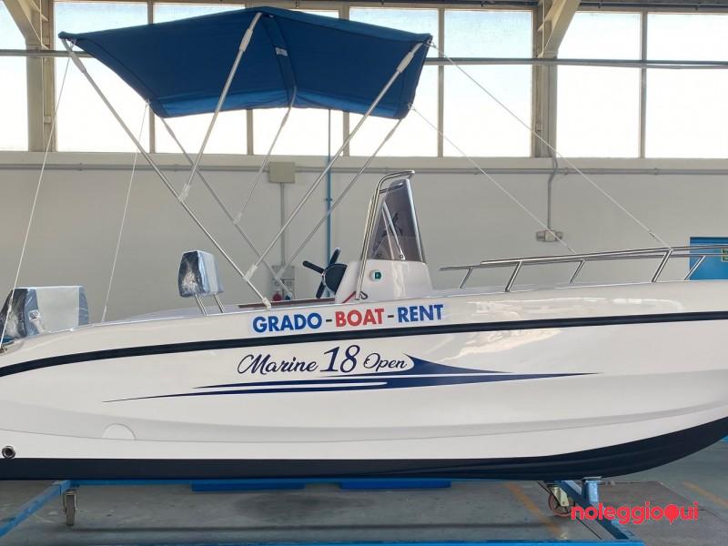 Barca GBR2  18 open