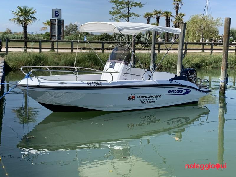 Noleggio Barca C2  Brube MOSE + Mercury  F40 PRO  ( no patente )