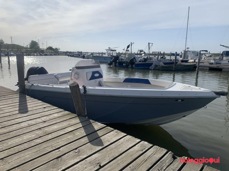 Barca PTO3 BRUBE CAPO NORD +MERCURY F100 CT