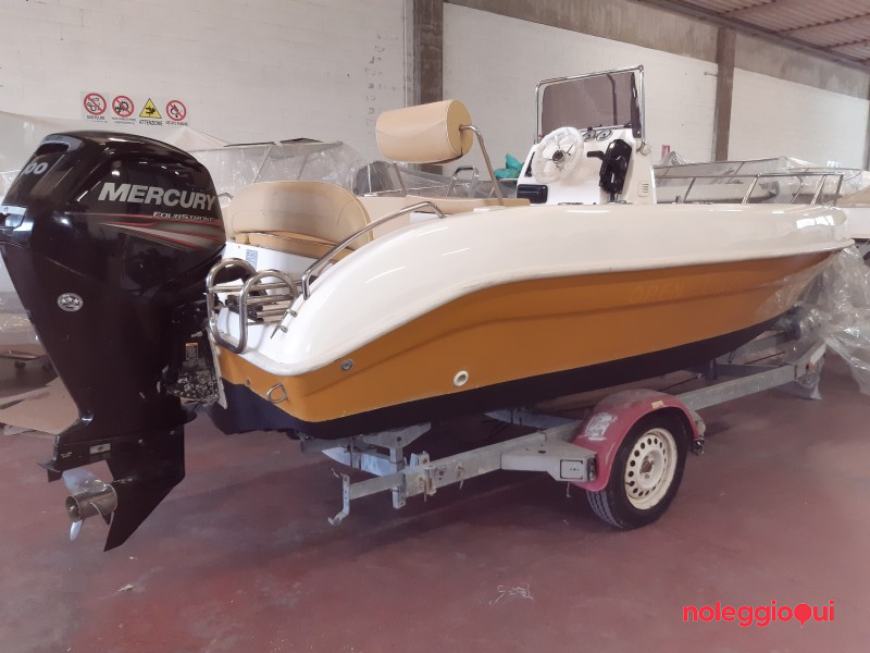 Barca SEA GHOST 550 OPEN + MERCURY F40