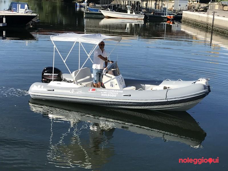 Gommone A4 Nuova Jolly 530 + Mercury F40 PRO (senza patente)