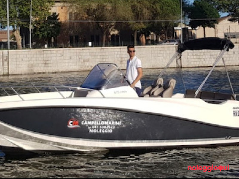 Imbarcazione A9 Quick silver 675 OPEN + F150 SEAPRO  ( con patente )