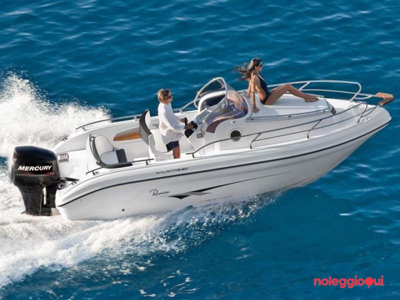Noleggio Barca PTO5 RANIERI ATLANTIS+MERCURY F150 EFI