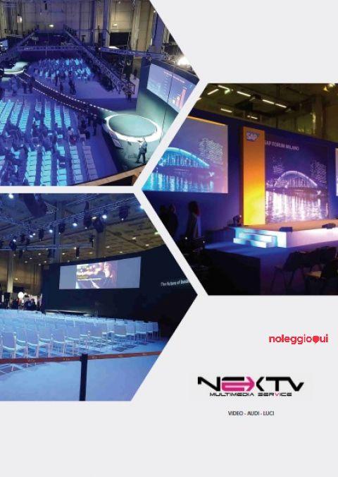 Service audio video per eventi