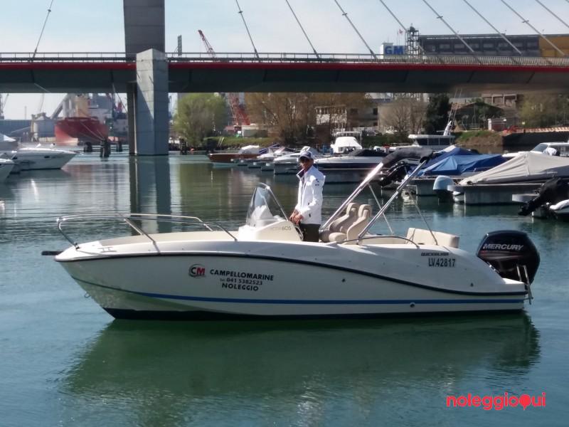 Barca A1 Quick Silver  Activ  605 Open + Mercury   F 115 CT  ( patente )